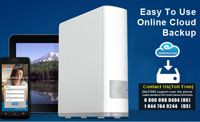 Easy To Use Online Cloud Backup